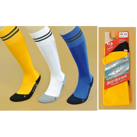JJW Football Silver socks