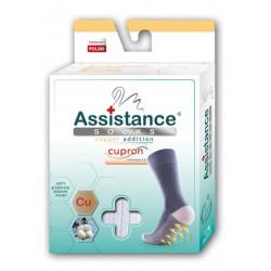 Wola  Assistance socks Skarpety Cupron z cząsteczkami miedzi