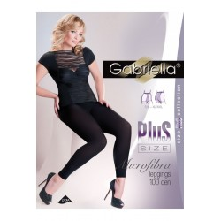 Gabriella Microfibra leggings 100 Plus size