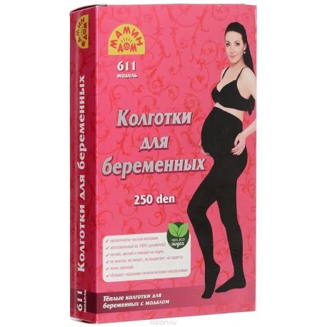 Мамин Дом 611 Колготки для беременных 250 den