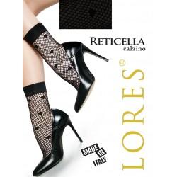 Lores Reticella calzino