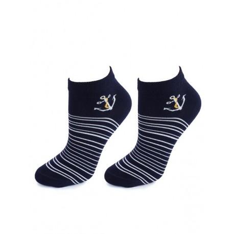 Marilyn Fashion socks Footies Marine